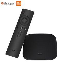 D'origine Xiaomi MI BOX TV BOX 3 Android 6.0 2G/8G Smart 4 K Quad Core HDR Film Set-top Box Multi-langue Netflix YouTube Google