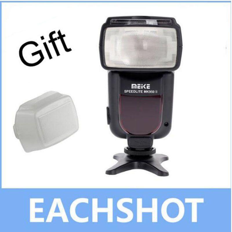 Meike MK-950 II E-TTL Flash Speedlite for Canon EOS 5D II 6D 7D 50D 60D 70D 550D 600D 650D 700D 580EX 430EX as Yongnuo YN-565Ex