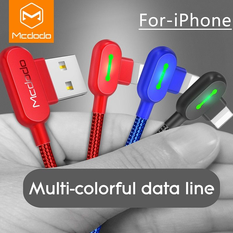 MCDODO USB Kabel Für iPhone Apple X 8 7 5 6 s plus Kabel Schnelle Ladekabel Handy Ladegerät für iPhone Kabel Usb Daten Kabel