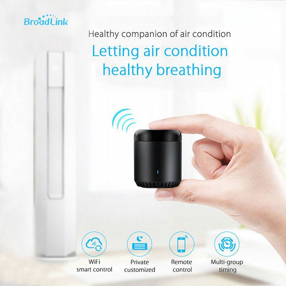 2018 <font><b>Broadlink</b></font> RM Mini3 Smart Home IR+WiFi+4G Universal Intelligent Wireless Remote Controller Support 38Khz For Ios Android
