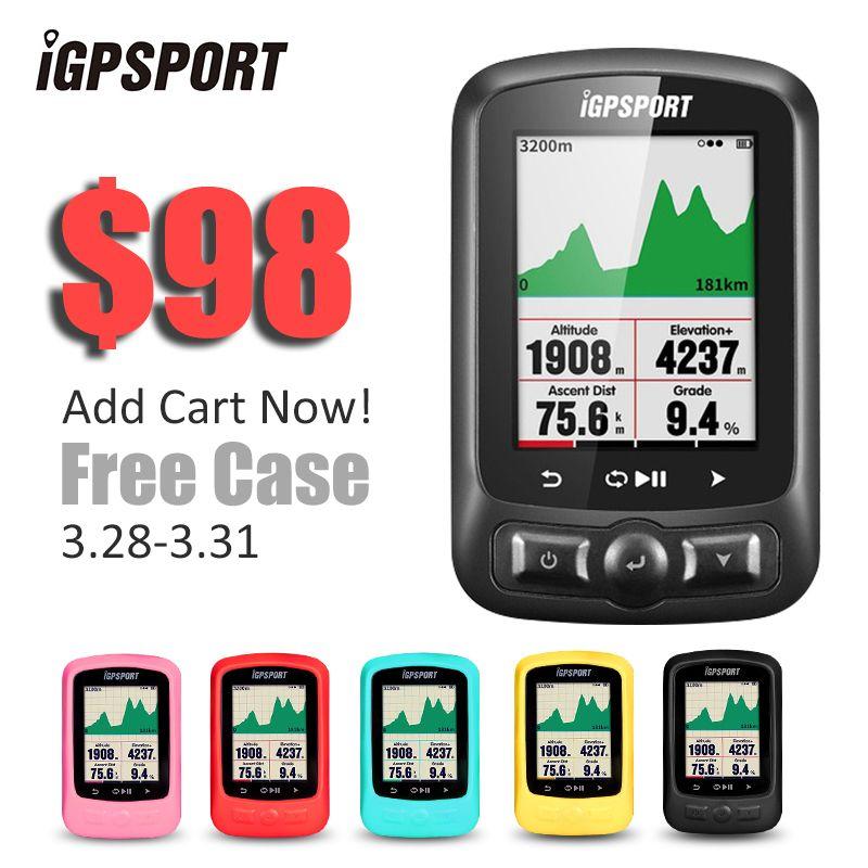IGPSPORT ANT + GPS IGS618 Bike Fahrrad Bluetooth Drahtlose Stoppuhr Tachometer Wasserdichten IPX7 Radfahren Bike Tacho Computer