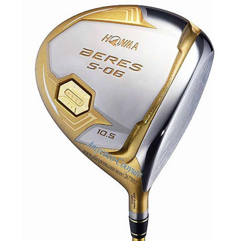 Cooyute Neue HONMA Golf Clubs HONMA S-06 4 Sterne Golf Fahrer 9 5or10 5loft Club Graphit Golf welle Fahrer headcover Kostenloser versand