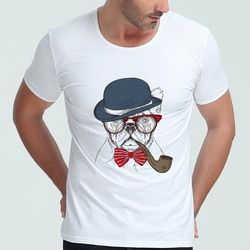 Hommes T Chemises À Manches Courtes Vêtements O Cou 100% coton FASHHION T CHEMISE