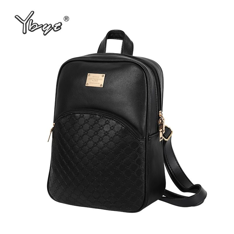 vintage casual new style leather school bags high quality <font><b>hotsale</b></font> women candy clutch ofertas famous designer brand backpack
