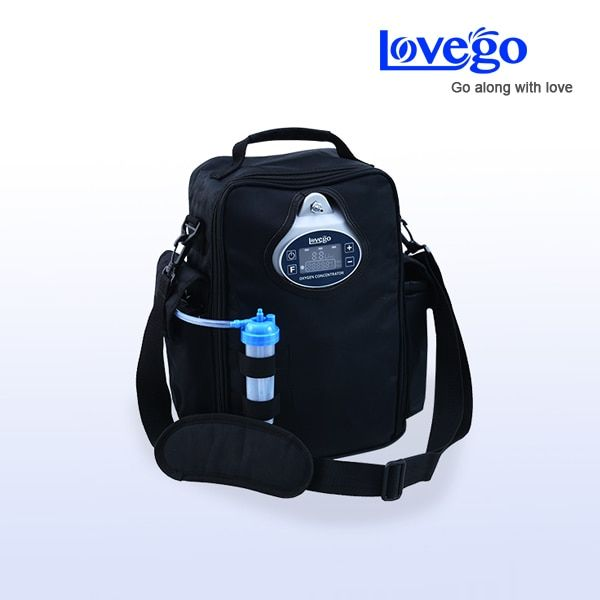 Hospital use medical oxygen concentrator LoveGo LG102 for COPDs/Ashama/Pulmonary Hypertension/ good oxygen price/Free shipping