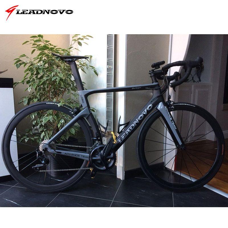 LEADNOVO Carbon Rennrad Rahmen disc bremsen Di2 Mechanische 3 K 1 K carbon rennrad rennen fahrrad frameset taiwan fahrrad