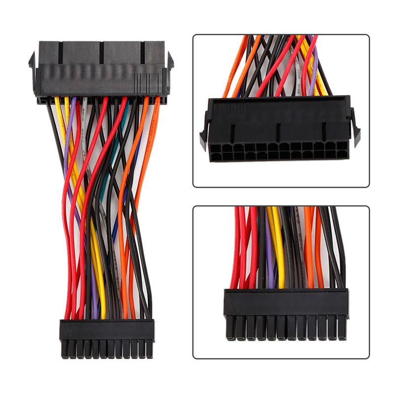 1 stück Atx-netzteil 24 Pin auf 24 Pin versorgung Adapter Kabel Für Laptop für DELL 780 980 760 960