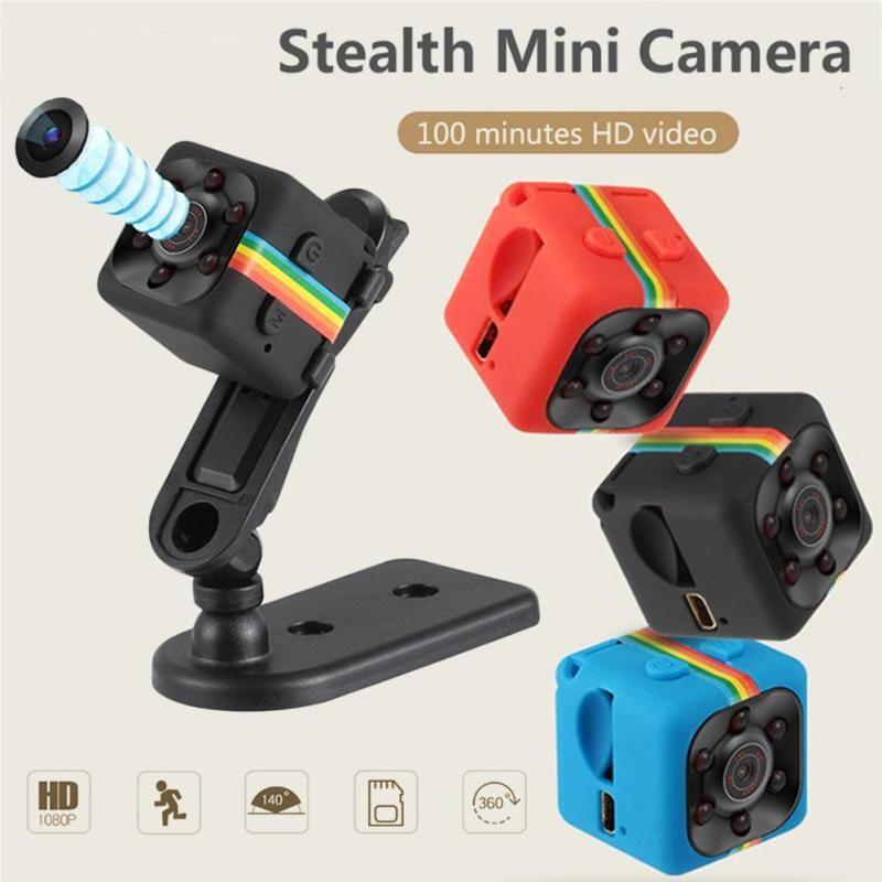 2018 SQ11 SQ13 Mini Caméra 1080 p Sence De Voiture DVR SPORT Maison Intelligente de Sécurité Caméscope petit Camara secret caméra Soutien TFCard