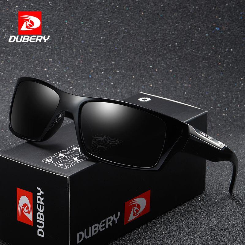 DUBERY Brand Design Polarized Sunglasses Men Driving Shades Male Retro Sun Glasses For Men Summer Mirror Fashion UV400 Oculos