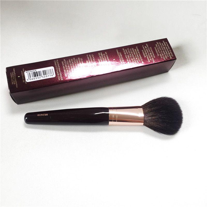 CT-Série Bronzer Brosse-Écureuil Cheveux & Chèvre Mix Cheveux Pinceau Poudre-Maquillage Blender Outil Applicatior
