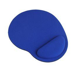 Barato Mini ratón del Mousepad muñeca soporte Comfort Pad para la computadora de escritorio negro/azul color #1559