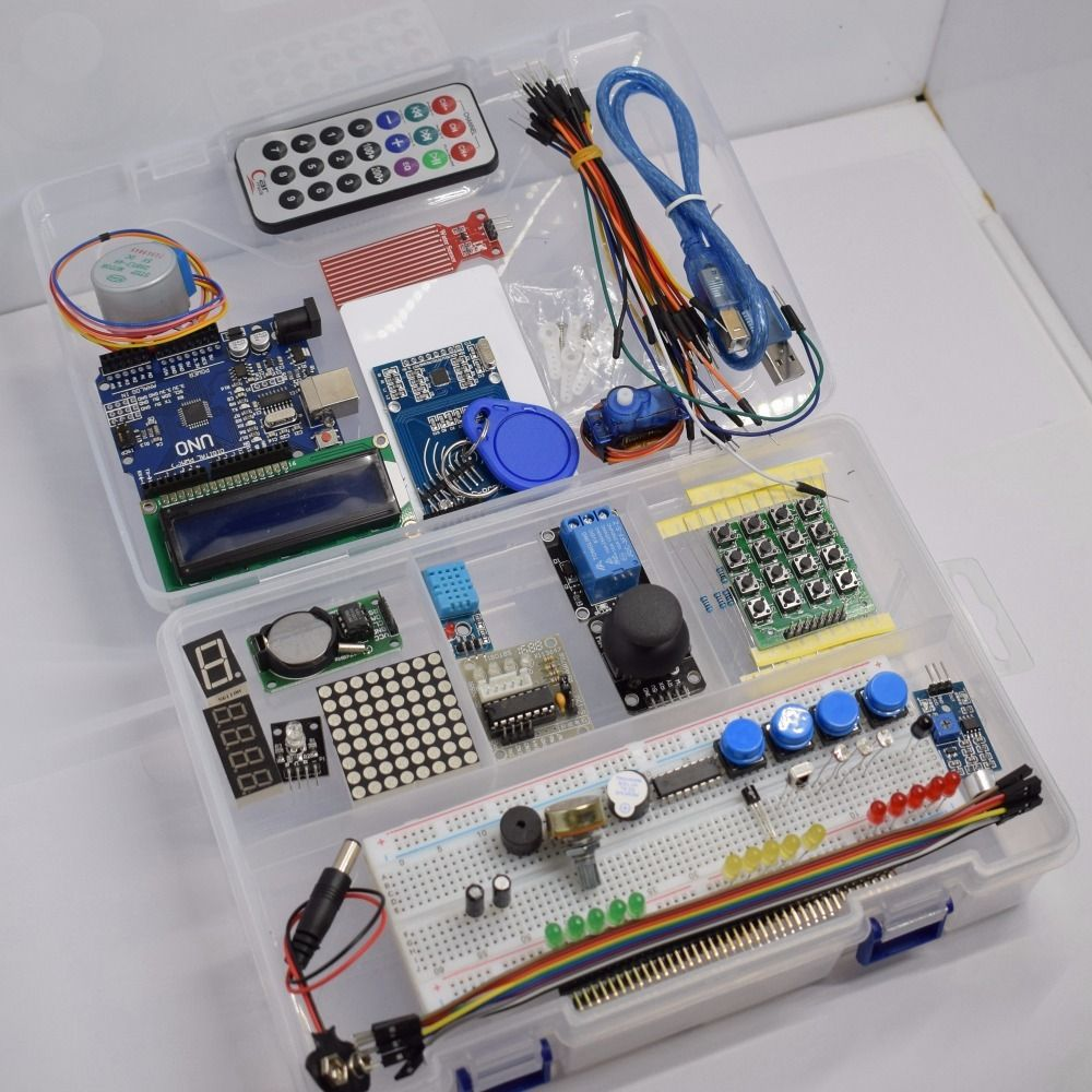 GREATZT NEWEST RFID Starter Kit for Arduino UNO R3 Upgraded version Learning Suite With Retail Box