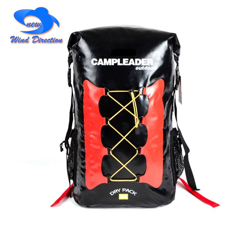 30L outdoor swimming bag waterproof backpack , tracing mountain climbing , wild camp, marine fishing, drift isolation