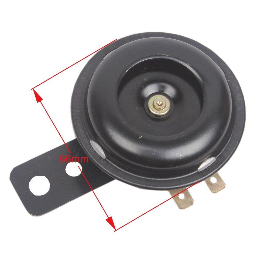 36V 66mm Scooter Electric Vehicle Horn 36 Volt Loud Tone Sound