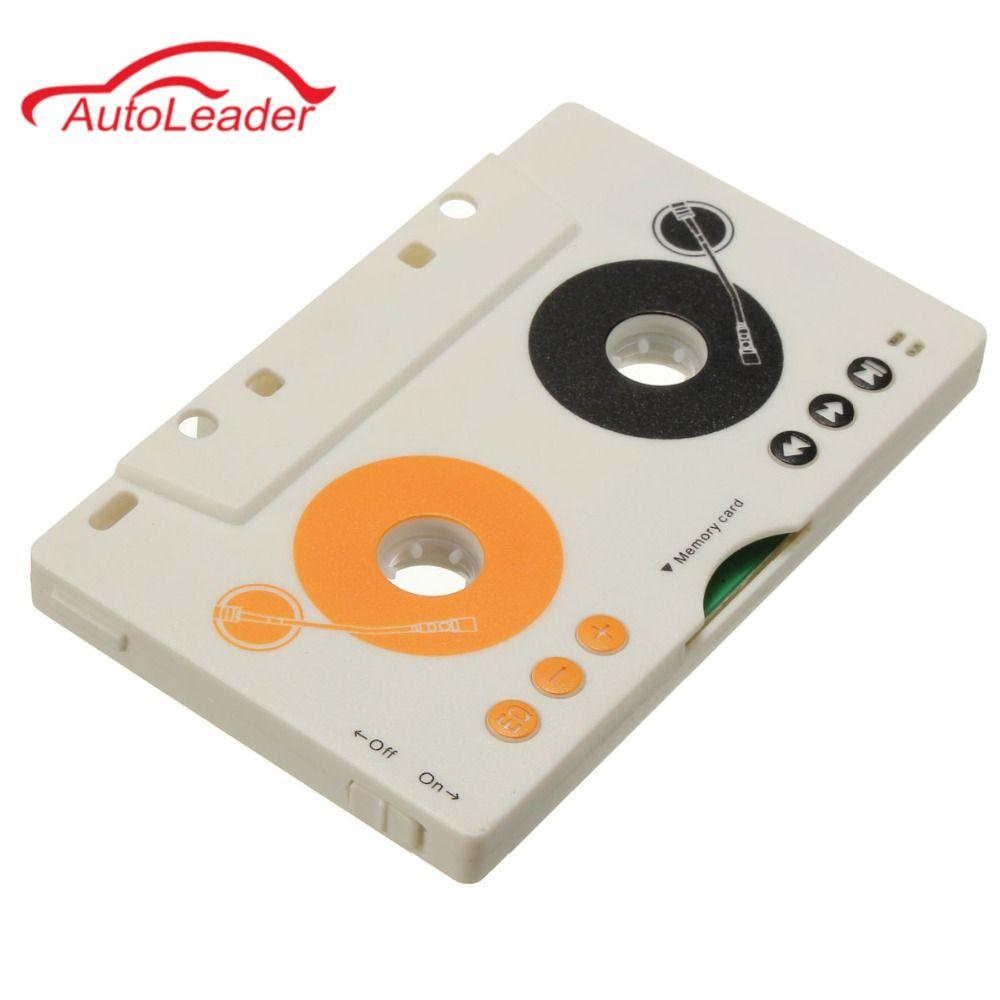 Фирменная Новинка V клюшки автомобиля Клейкие ленты кассеты SD MMC MP3-плееры Adapter Kit с Дистанционное управление