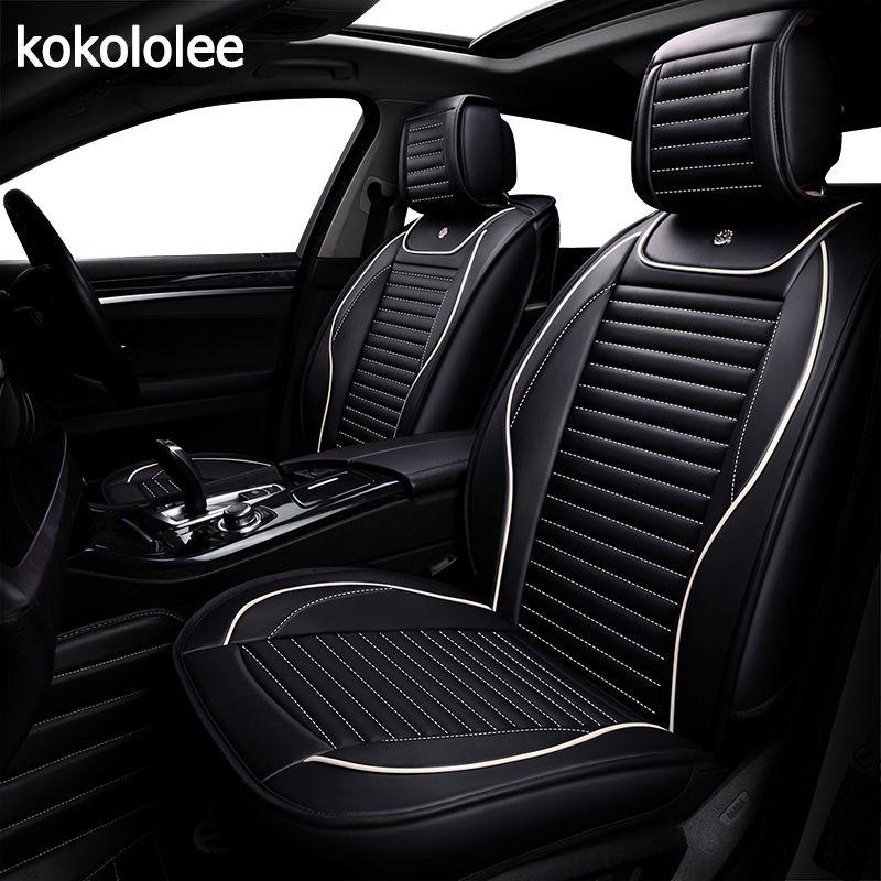 KOKOLOLEE pu auto sitz abdeckung für ford focus 2 3/2009/2010/2011/2012/2013 /2014/2015/2016/2017/2018 auto zubehör auto-styling