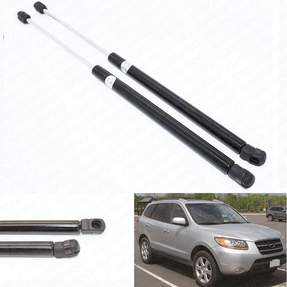 2pcs Truck  Tailgate Boot Gas Struts Shock Struts Damper Prop Rod Arm Car Lift Supports fits for Hyundai Santa Fe 2007-2011 2012