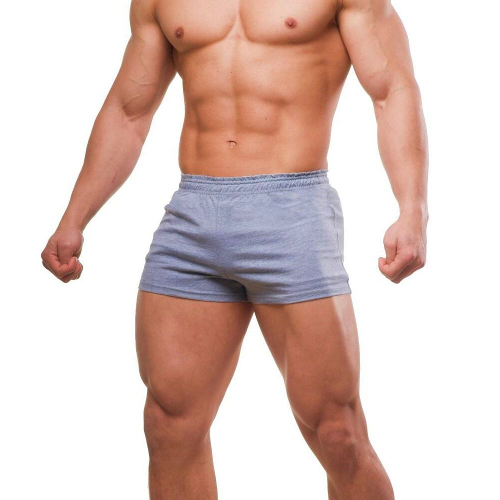 Shorts Men Bodybuilding Fitness Workout For Male Cotton Casual Solid Sexy Bermudas Masculina De Marca Joggers Sportswear MMA NEW