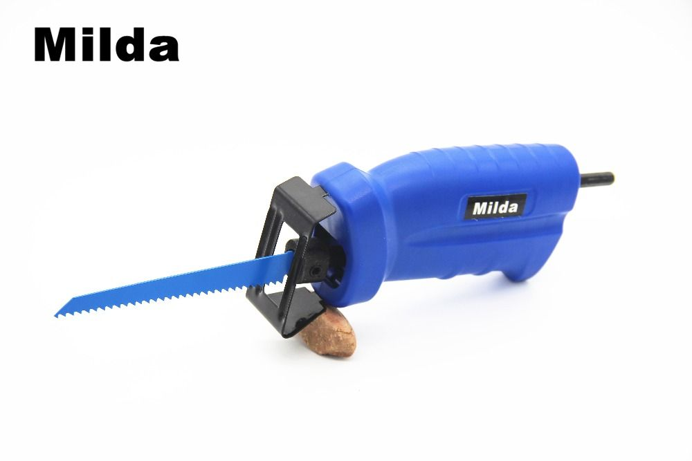 Milda Reciprocating saw electric drill attachment new power tool accessories Metal Cutting wood Cutting Tool have 3 blades