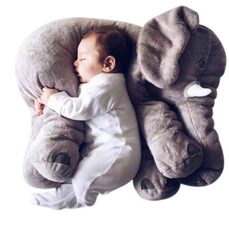 40/60cm bébé en peluche éléphant doux apaisé éléphant Playmate poupée calme bébé jouet éléphant oreiller jouets en peluche poupée en peluche
