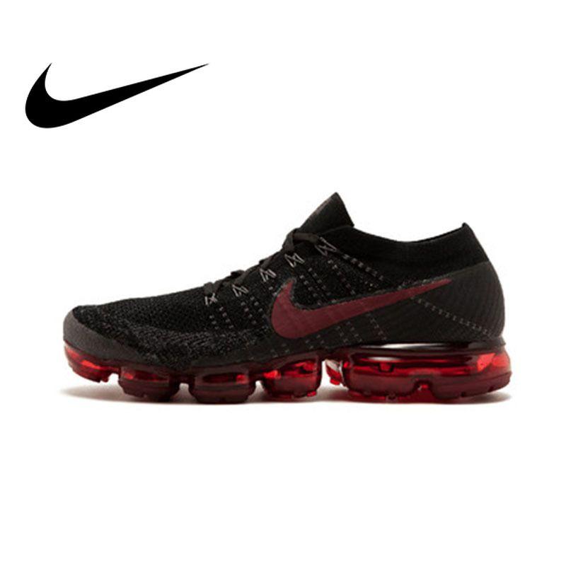 Original Offizielle Nike Air VaporMax Wahr Sein Flyknit Atmungsaktive herren Laufschuhe Outdoor Sport Turnschuhe Marke Designer