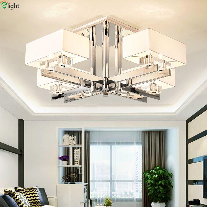 Moderne Glanz Chrome Wohnzimmer Führte Kronleuchter Beleuchtung Neuheit Esszimmer Führte Kronleuchter Lampe Schlafzimmer Hängen Lichter Leuchte