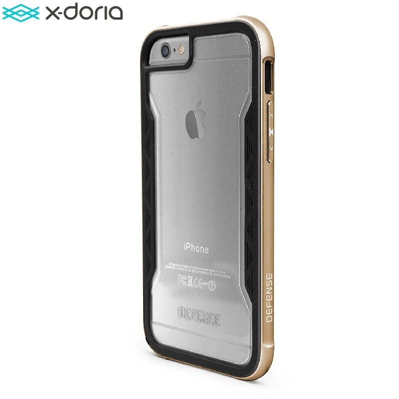 X-Doria Defense Shield Case for Coque iPhone 6S / iPhone 6 Cover [Military Grade Drop Tested] TPU & Aluminum Protector Capinha