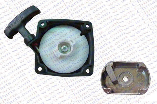 Plastic Pull Start Starter With Cog 33CC 43CC 47CC 49CC Pocket Dirt Pit Bike ATV Quad Go Kart Buggy Mower Parts