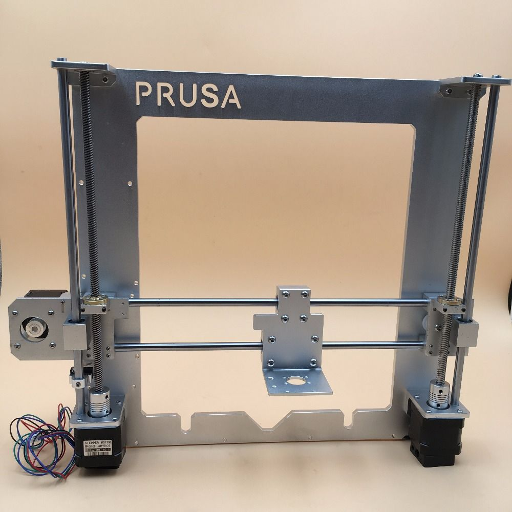 Reprap Prusa i3 aluminium mécanique kit Argent, cadre en aluminium, X transport, fin fou X fin moteur titulaire, moteurs, T8 Plomb vis