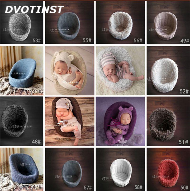 Dvotinst новорожденных Подставки для фотографий позирует мини-диван-кресло украшения Fotografia аксессуары Infantil студийная съемка реквизит