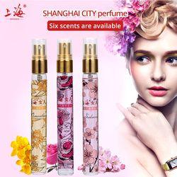 Shanghai 10 ml Mini Perfume viaje atomizador portátiles Perfumes y fragancias para las mujeres Parfum fragancias desodorante bomba sin aire
