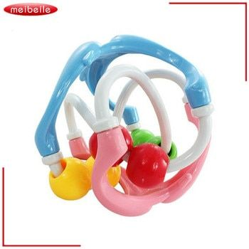 Hand Movement Training Grasping Toys Toddler Clacking Sliding Bed Rattle Ball For Baby 0-12 months Intelligence Development