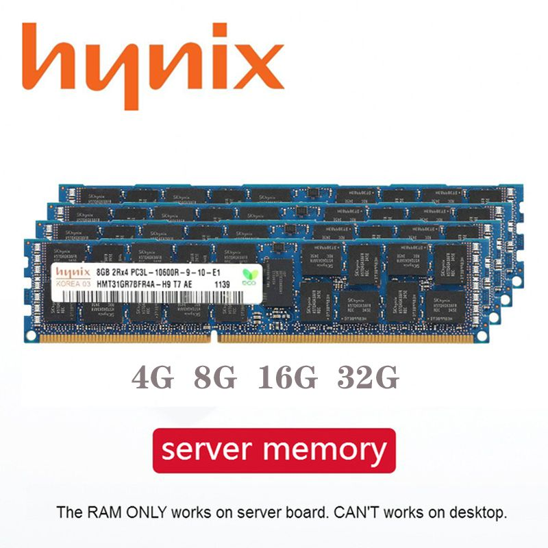 DDR3 4GB 8GB 16GB 32GB PC3 serveur mémoire 1333Mhz 1600Mhz 1866MHz ECC REG PC3 registre DIMM RAM 8G 16G 32G 1333 1600 1866 Mhz