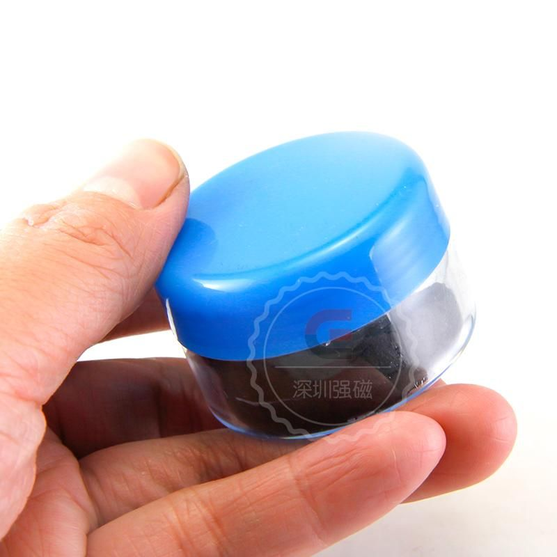 1 boîte de poudre de particules magnétiques pour l'éducation Science expériences aimant/fer poudre Antique restauration