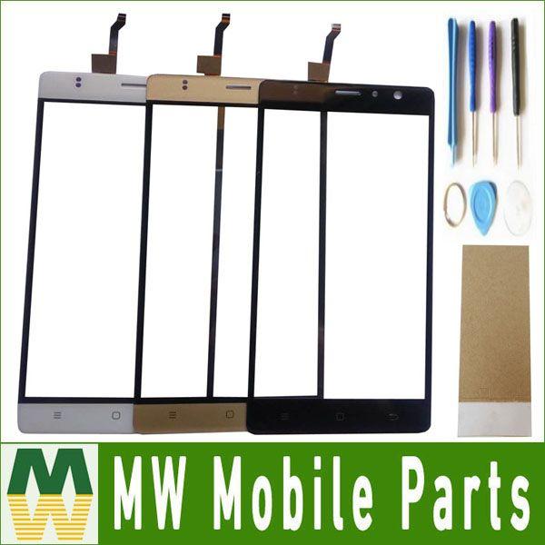 Schwarz Weiß Gold Farbe 1 Teil/los Für TIMMY M20 Pro Android 6,0 MTK6737 Quad-Core-Touch Screen Touch Panel Glas mit werkzeuge + band