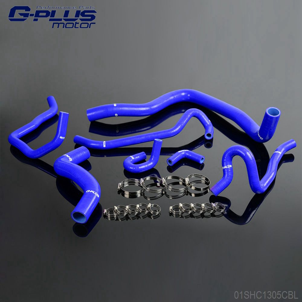 Silicone Radiator Hose Kit For HONDA ACCORD SiR-T F20B CF4 Euro-R CL1 97-00