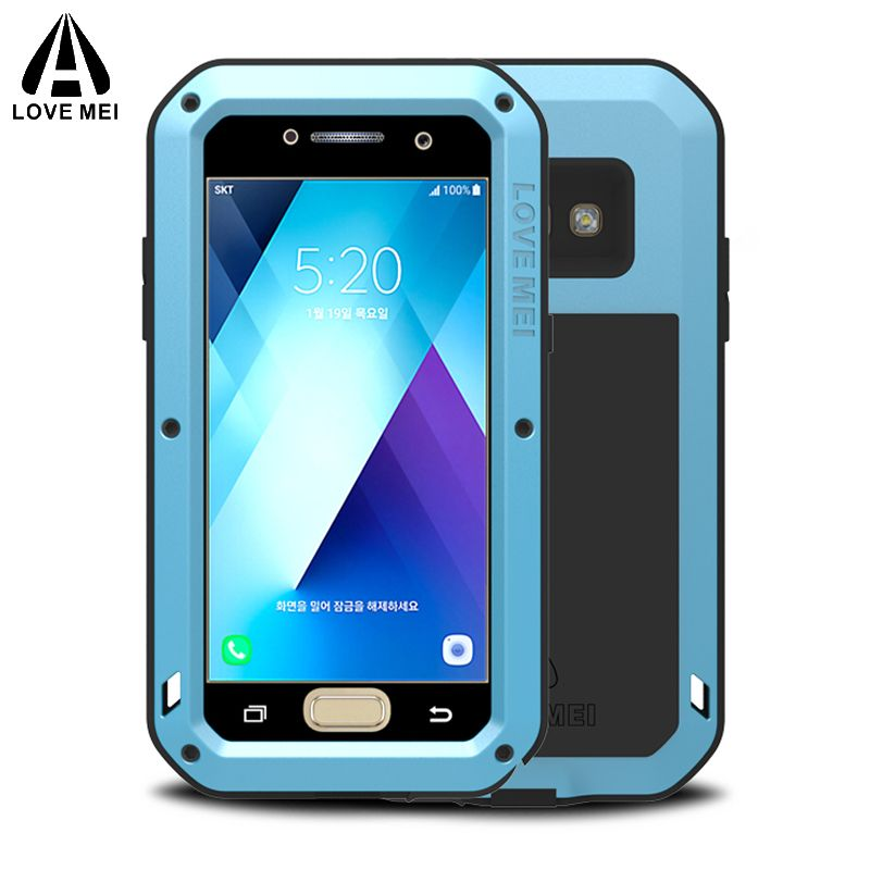 sFor Samsung A3 2017 Case Armor Shockproof With Gorilla Glass sFor Samsung Galaxy A3 2017 Case For Samsung Galaxy A3 2017 Cover