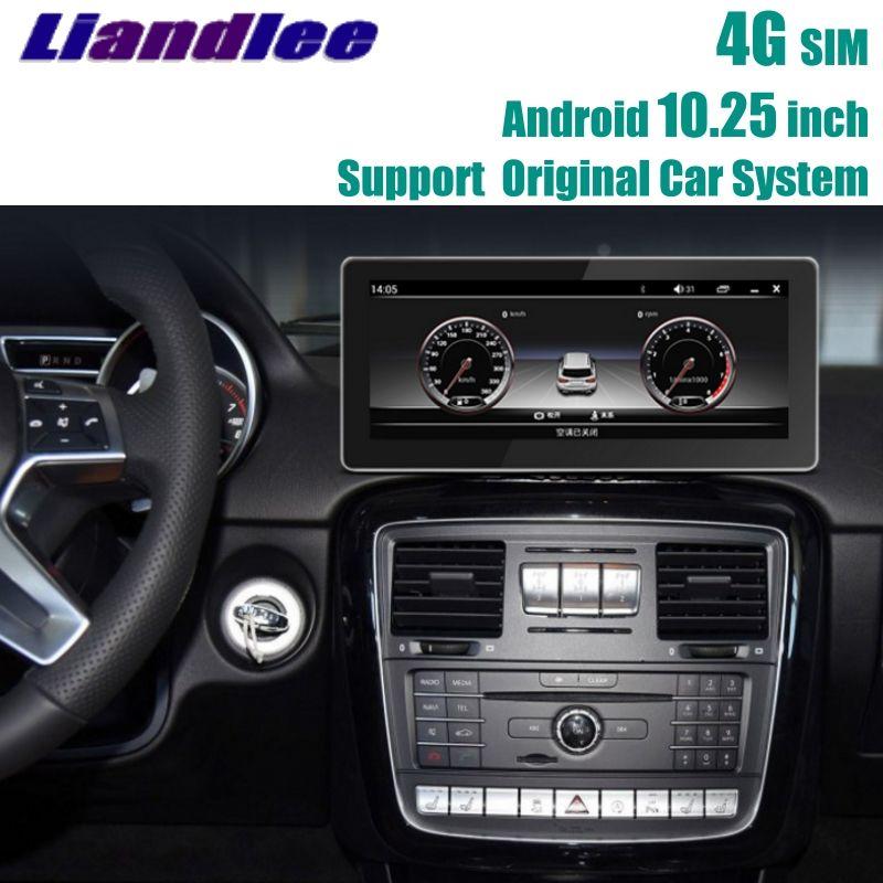 Liandlee Car Multimedia Player NAVI For Mercedes Benz MB G Class G63 G350 G500 W463 2012~2018 Car Radio Stereo GPS Navigation
