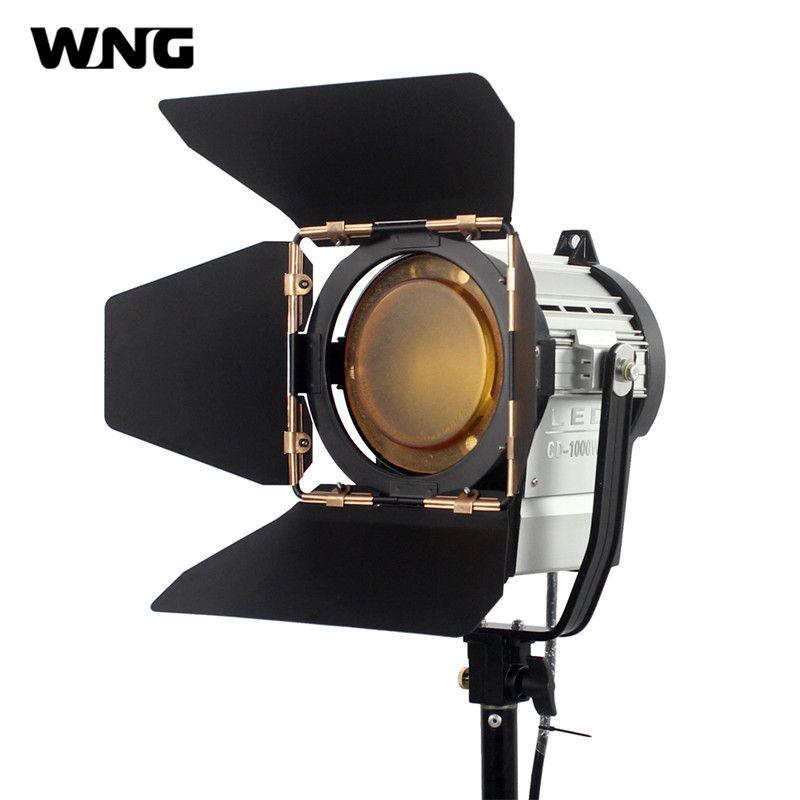 100W LED Spot Light Dimmable Spotlight Studio Fresnel LED Light 3200K/5600K for Studio Photo Video Lighting Spotlights