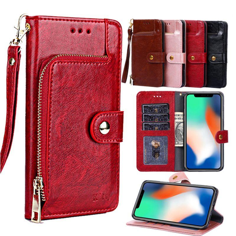 Wallet Leather Case For Xiaomi Redmi 6A Note 7 Pro note 5 6 pro 5A 4X S2 Coque cover for Xiaomi Mi 8 SE A2 lite A1 Poco F1 Funda
