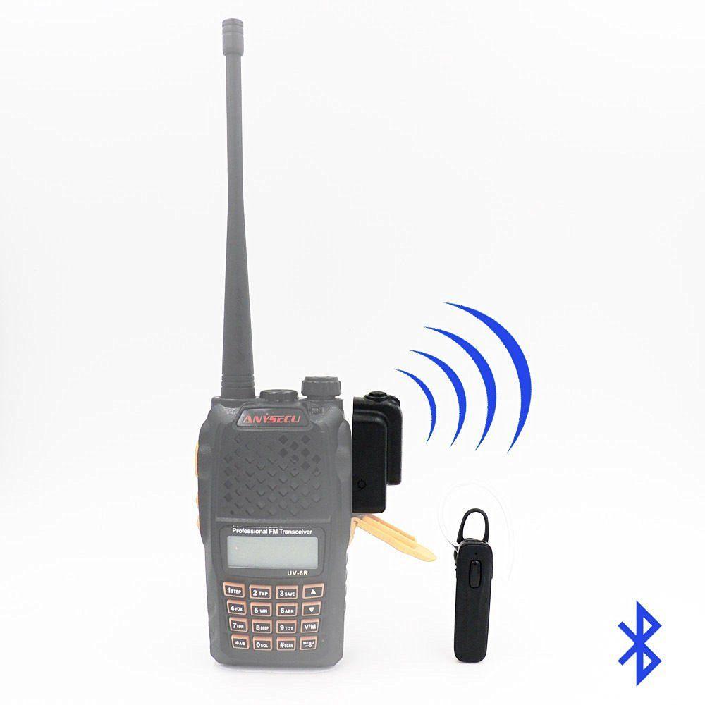 Bluetooth Wireless Headset Earpiece for KENWOOD TYT HYT BAOFENG UV82 UV5R 2 Way Radio Ham Transceiver Walkie Talkie