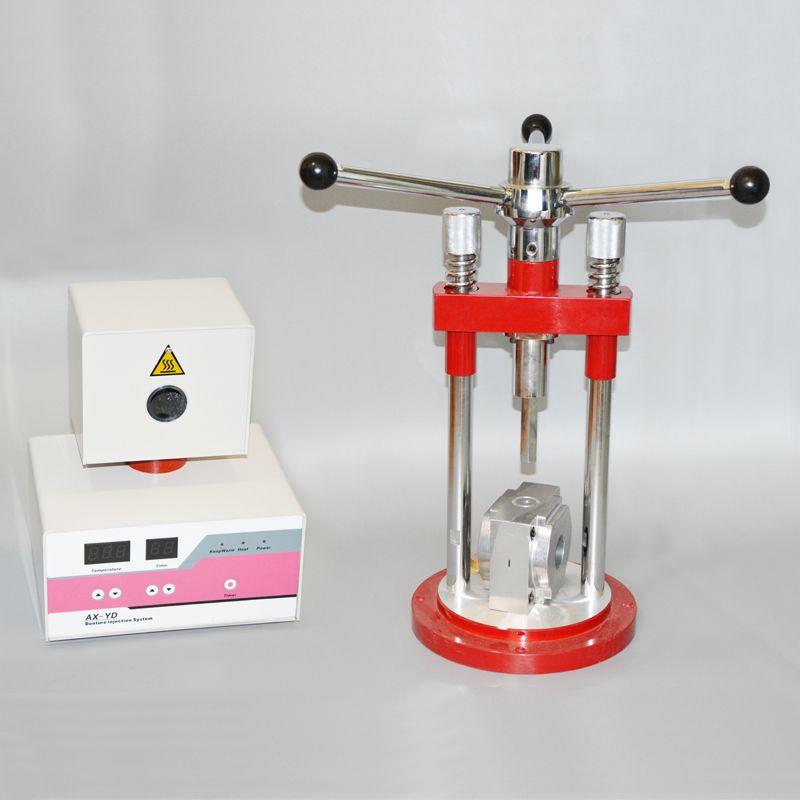 Valplast prothese spritzgießmaschine für Flexible Zahnersatz, der dental Flexible injection system