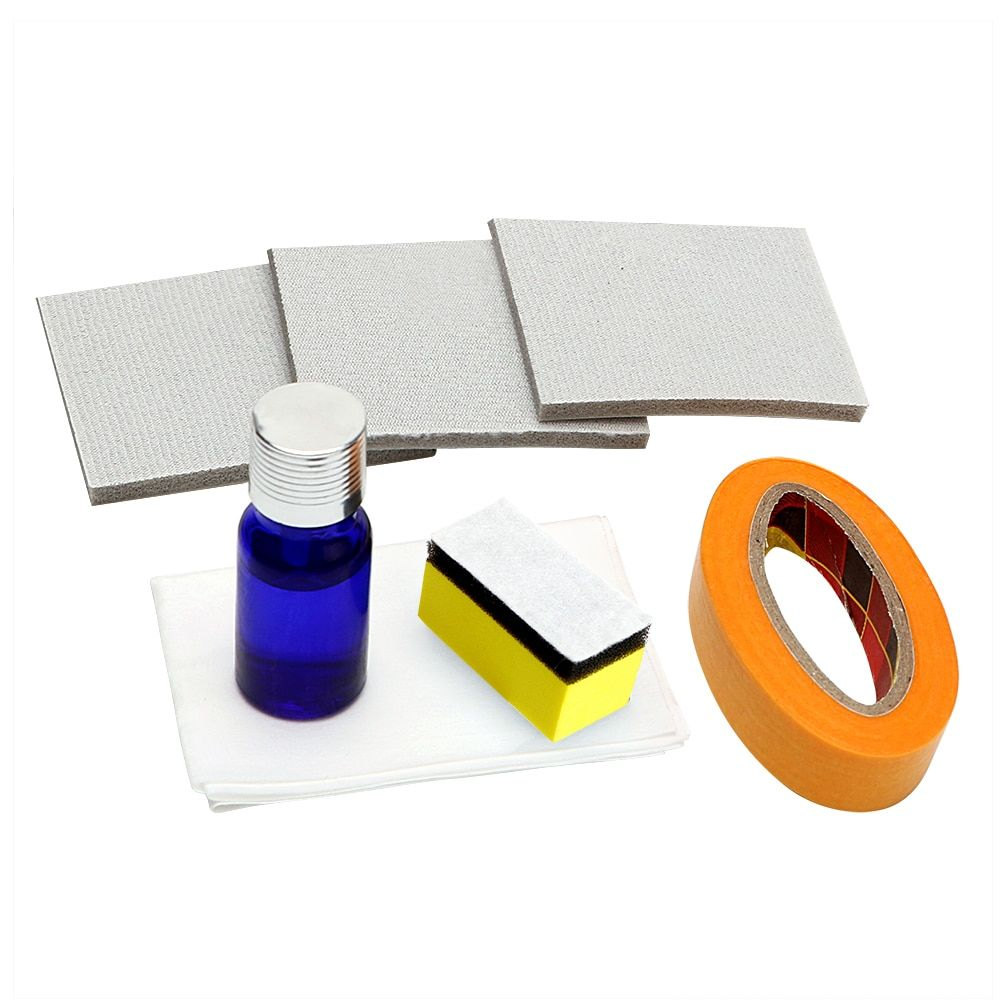 Headlamp Polishing Kit DIY Headlight Restoration for Car Head Lamp Lense Deep Clean Compuesto Pulidor UV Protective Liquid