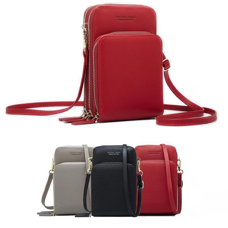Bandoulière téléphone portable sac à bandoulière arrivée sac de téléphone portable mode usage quotidien porte-carte Mini sac à bandoulière d'été pour les femmes portefeuille