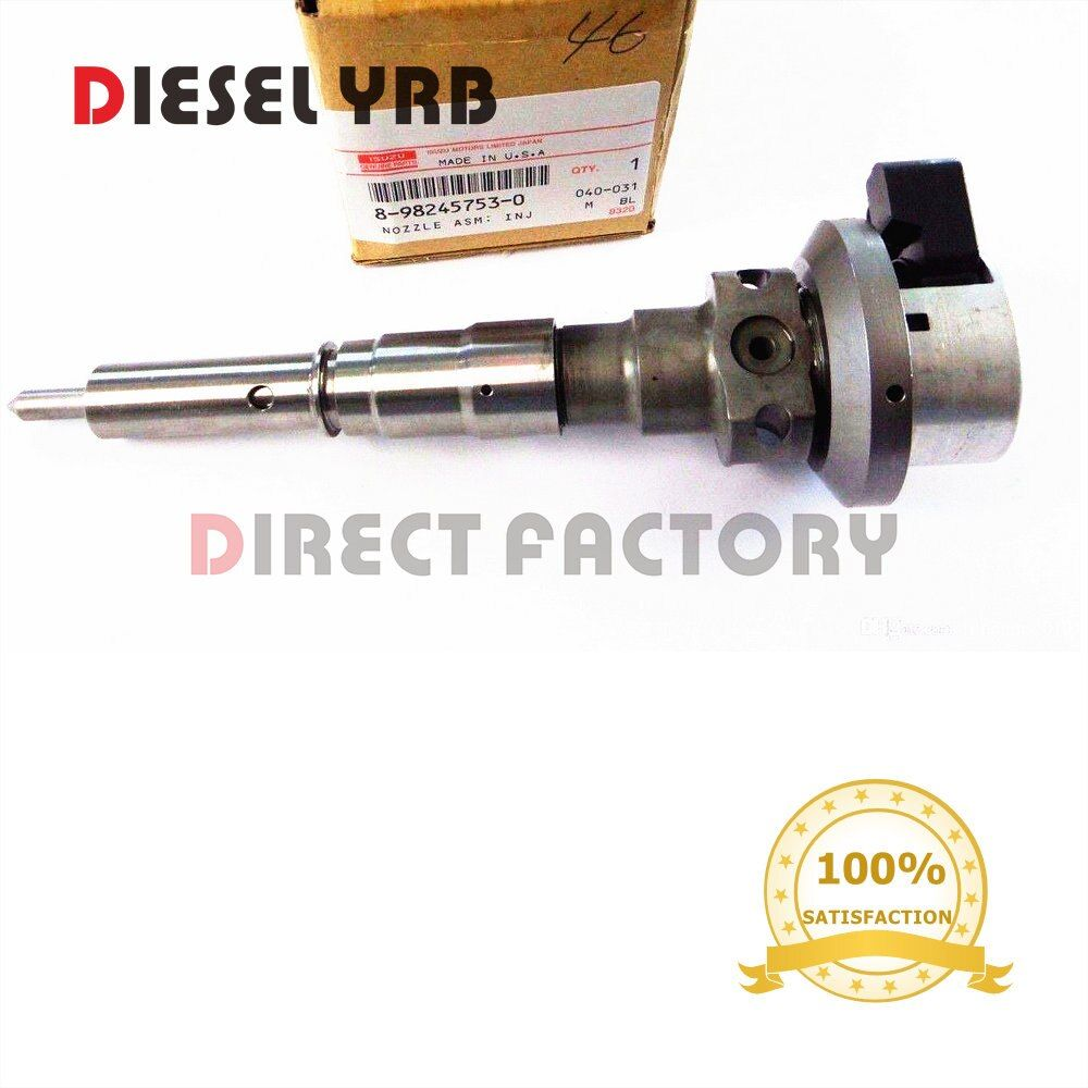 GENUINE NEW DIESEL COMMON RAIL FUEL INJECTOR 8982457530, 8971925963, 8-98245753-0, 8-97192596-3 FOR TROOPER 3.0L