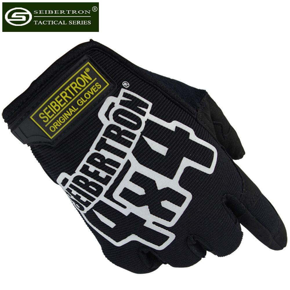 Nouveau Seibertron 4X4 gants tactiques pour F1 course mécanicien alpinisme Camping voyage cyclisme tir Police chasse gants