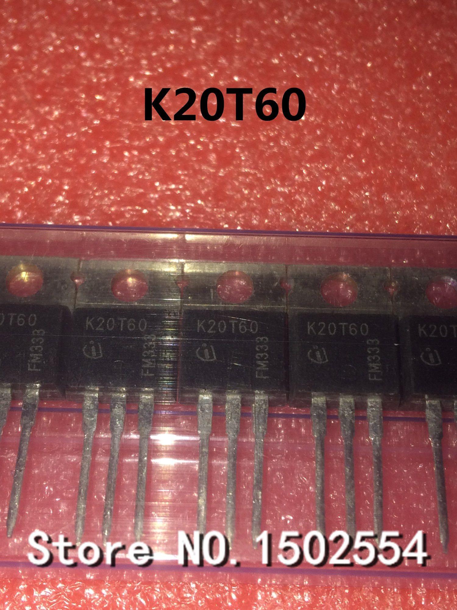 50PCS/LOT IKP20N60T K20T60 TO-220 IGBT 600V 20A