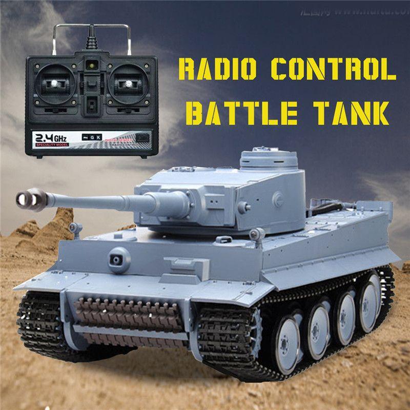 Heng Long 3818-1 2,4G 1/16 Deutschland Tiger I Panzer Fernsteuerung Kampfpanzer