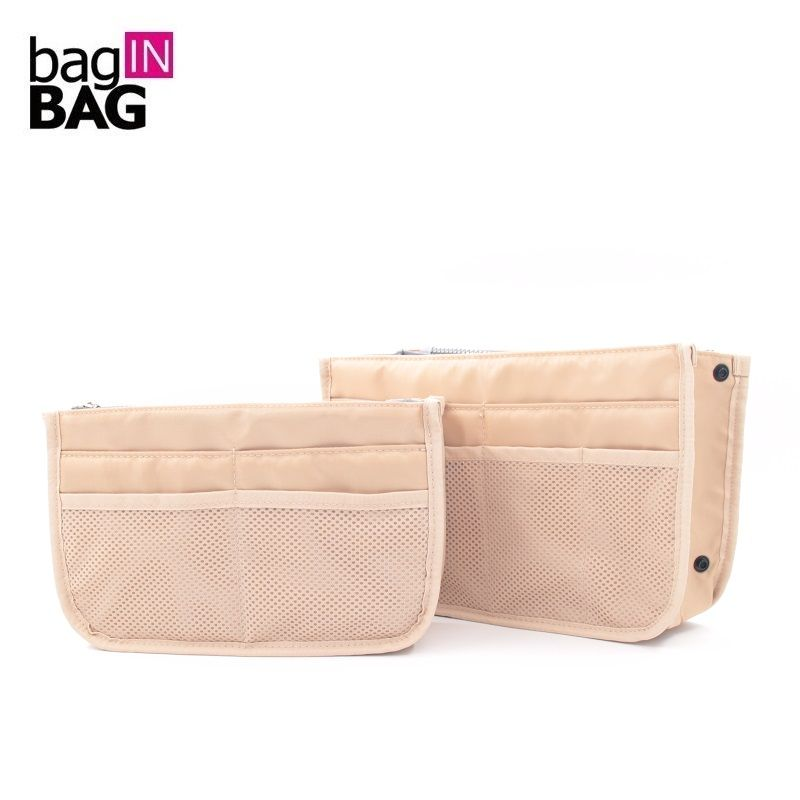 Bag in bag Zipper Nylon Travel Organizer Bags Large Storage Liner Cosmetic Package Bags Trousse Maquillage Femme