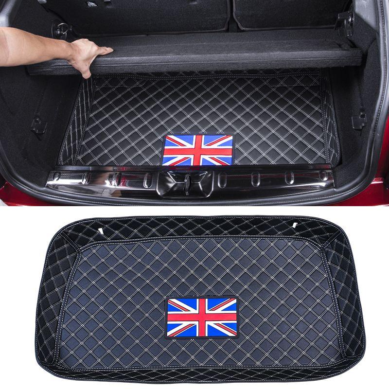 Auto wasserdichte Kofferraum matte gepäck fach trim Hinten lagerung box schutz dekoration Für BMW MINI COOPER F54 F55 F56 F60 r60